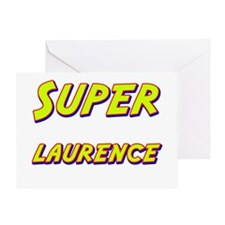 Super laurence Greeting Card