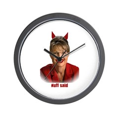 Don't Vote for another Dumbass! Wall Clock