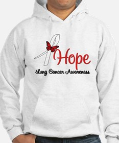 Hope Lung Cancer Jumper Hoody