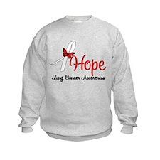 Hope Lung Cancer Sweatshirt