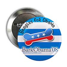 Beagles for Obama button