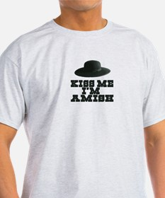 Kiss Me I'm Amish T-Shirt