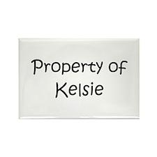 Kelsie Rectangle Magnet