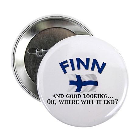 """Good Lkg Finn 2 2.25"""" Button (10 pack)"""