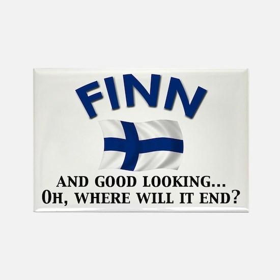 Good Lkg Finn 2 Rectangle Magnet