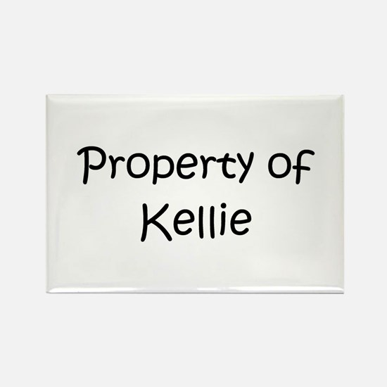 Cute Kellie Rectangle Magnet