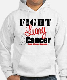 Fight Lung Cancer Jumper Hoody