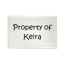Funny Keira Rectangle Magnet