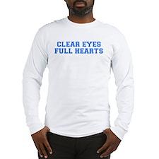 clear eyes Long Sleeve T-Shirt