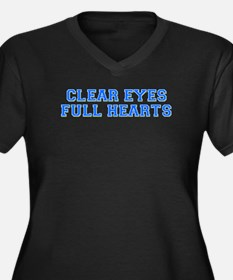 clear eyes Plus Size T-Shirt