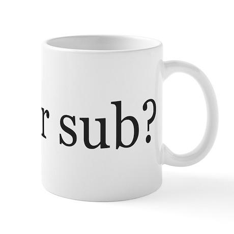subforsub Mugs