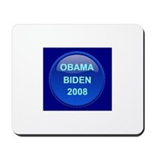 Obama Biden in Blue Mousepad