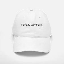 Father of Twins HRT Baseball Baseball Cap