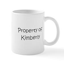 Cute Property of kimber Mug