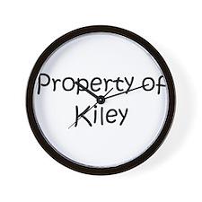 Funny Kiley Wall Clock