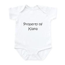 Funny Kiana Infant Bodysuit