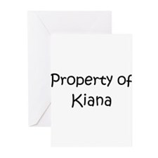 Cute Kiana Greeting Cards (Pk of 20)