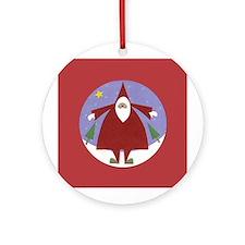 Santa Claus - Ornament (Round)