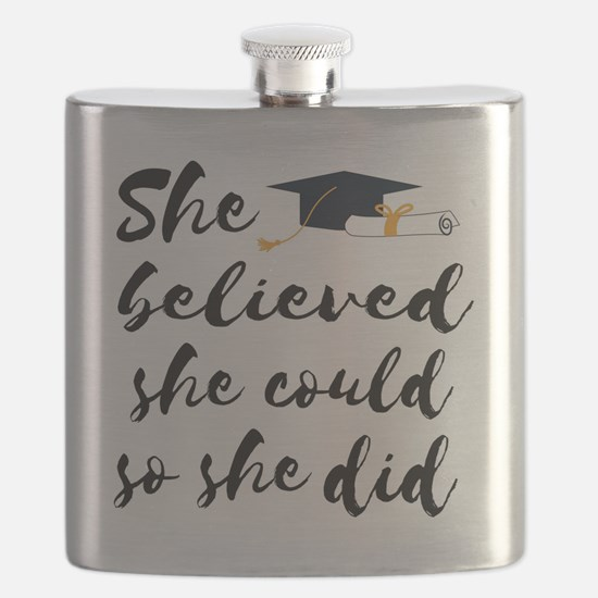 Unique College grad Flask