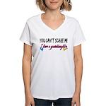 Scare Me - Granddaughter Women's V-Neck T-Shirt