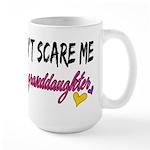 Scare Me - Granddaughter Large Mug
