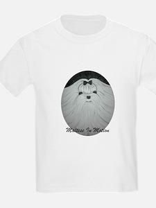Maltese In Motion Kids T-Shirt