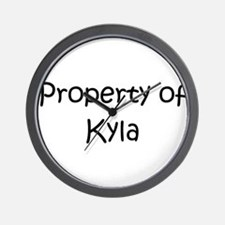Cute Kyla Wall Clock
