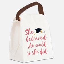 Funny Could Canvas Lunch Bag