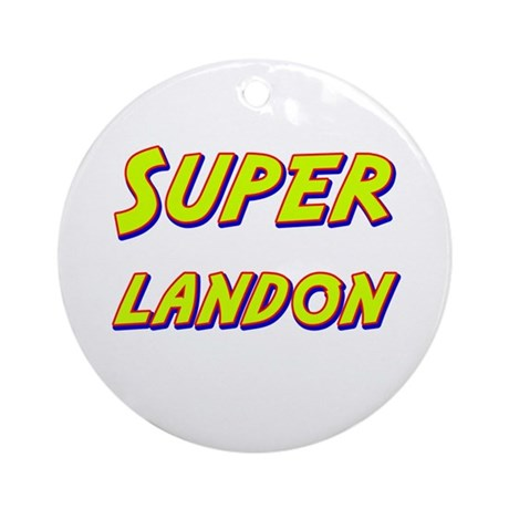 Super landon Ornament (Round)