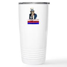 Uncle Same Wants You Travel Mug