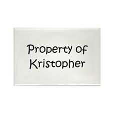 Funny Kristopher Rectangle Magnet