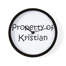 Unique Kristian Wall Clock