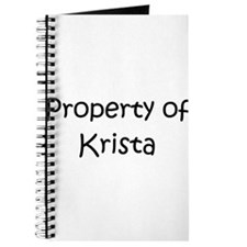 Funny Krista Journal