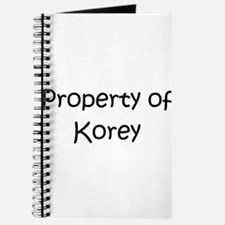 Cute Korey Journal