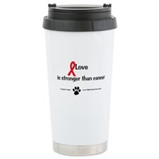 Unique Dog fighting Travel Mug