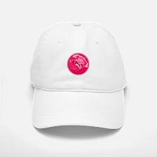 Pink Surf Logo Baseball Baseball Cap