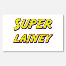 Super lainey Rectangle Decal