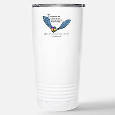 Autism is treatable; Travel Mug