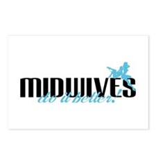 Midwives Do It Better! Postcards (Package of 8)