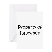 Unique Laurence Greeting Card