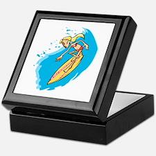 Surfer Girl Keepsake Box