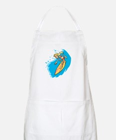 Surfer Girl BBQ Apron