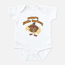 MOM'S LITTLE TURKEY! Infant Bodysuit