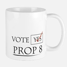 Cute Yes prop 8 Mug