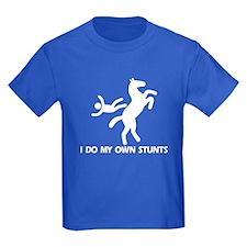 Rearing Horse 'Stunts' T