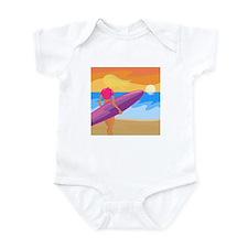 Surf Scape Infant Bodysuit