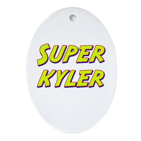 Super kyler Oval Ornament
