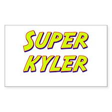 Super kyler Rectangle Decal