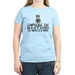 Confucius say IQ Women's Light T-Shirt