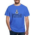 Confucius say IQ Dark T-Shirt